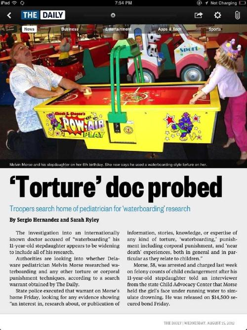 'Torture' doc probed