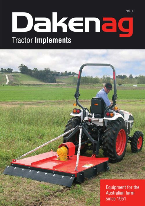 Daken Ag Tractor Implement Catalogue