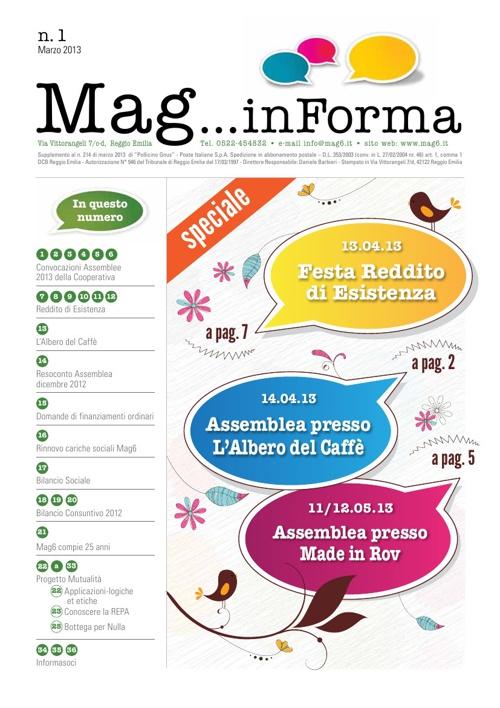 MagInForma n. 1 - 2013