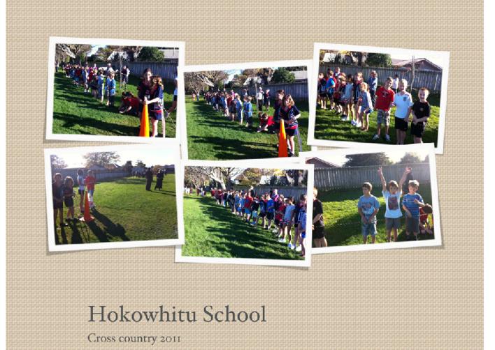 Hokowhitu School Cross country 2011