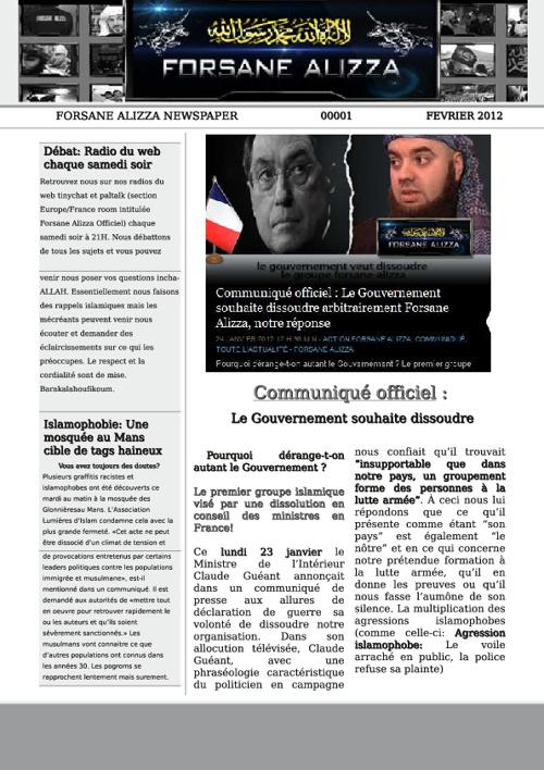 Newspaper>Communiqué officiel : Le Gouvernement souhaite dissoud