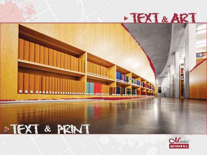 text + art