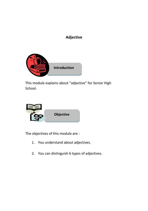 Adjective_Module