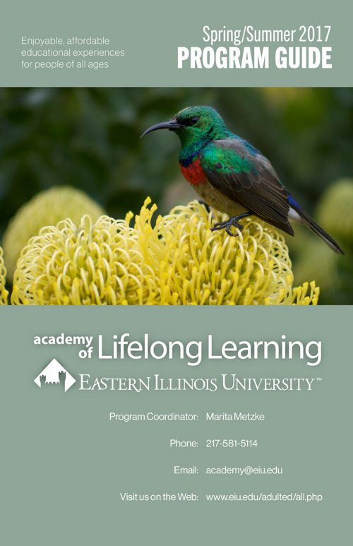 EIU Academy of Lifelong Learning Spring/Summer Program Guide