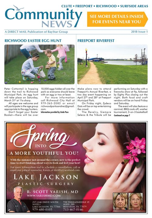 Clute-Freeport Community News 2018 Issue 1