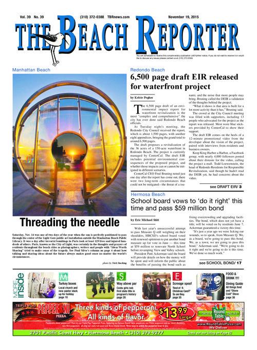 The Beach Reporter | 11-19-15