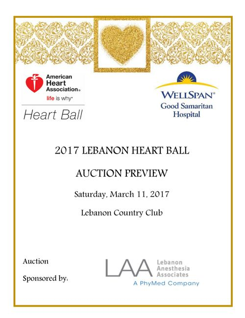 2017 Lebanon Heart Ball Preview