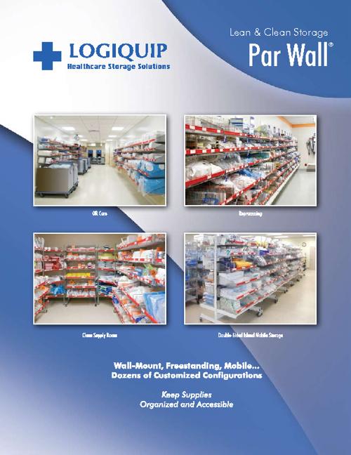 Lean & Clean Storage Par Wall