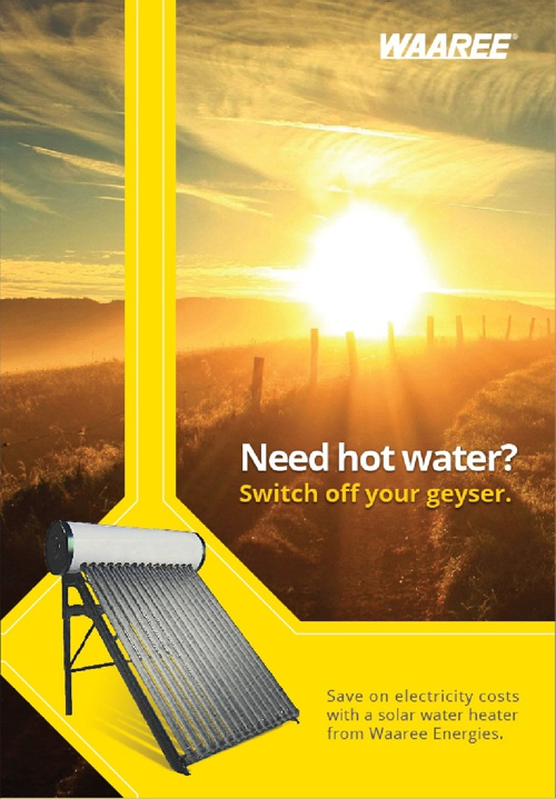 Solar Water Heater- Waaree