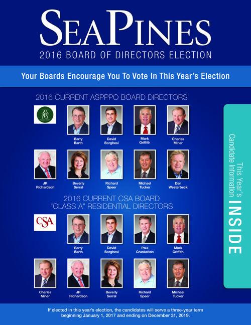 2016 CSA & ASPPPO Board Candidates Brochure