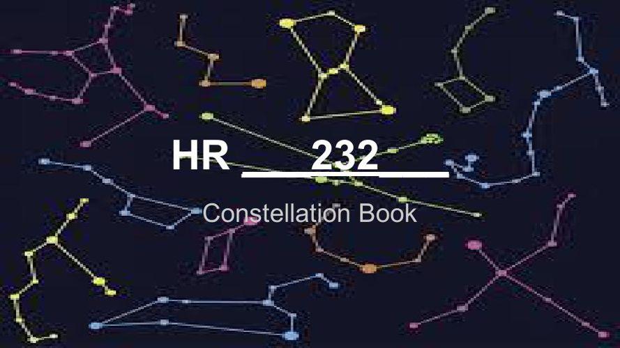 Class Constellation Book HR 232