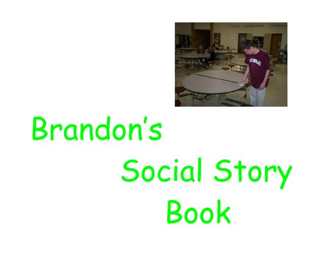 Brandon's social story