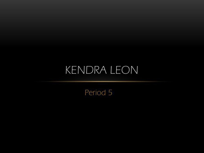 Kendra Leon