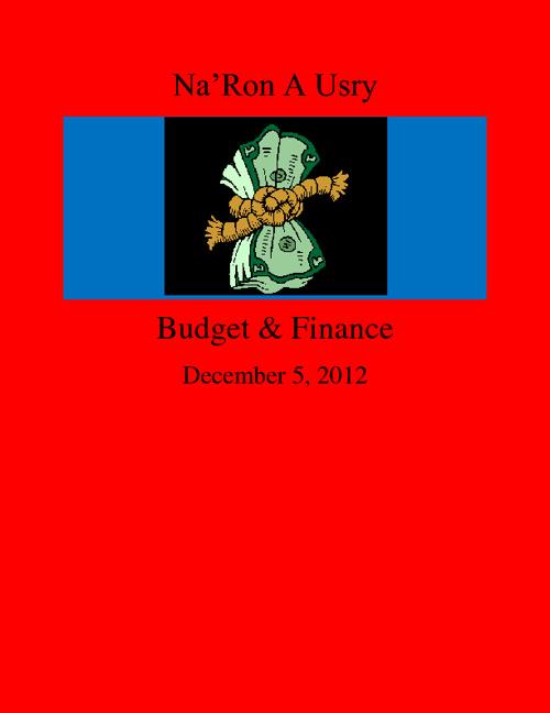 NaRon Usry Budget and Finance