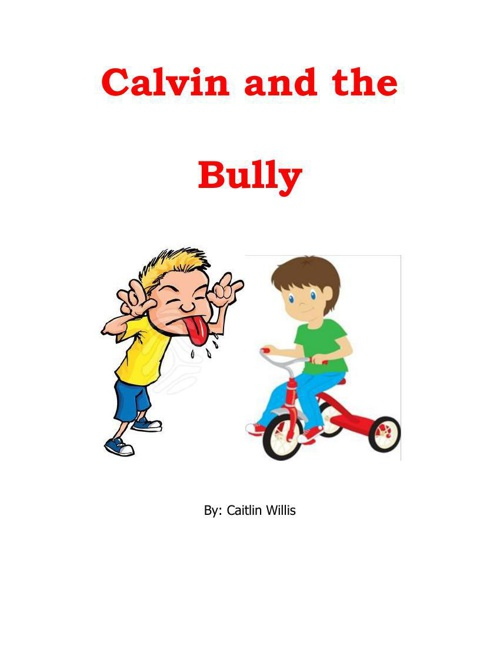 Calvin and the Bully