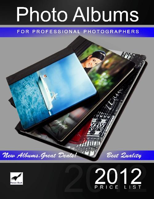 KenonBook Price List 2012