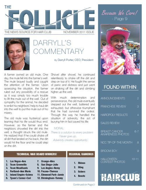 Follicle November
