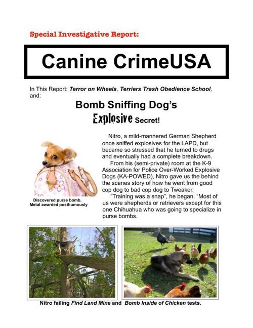 Canine Crime - pdf
