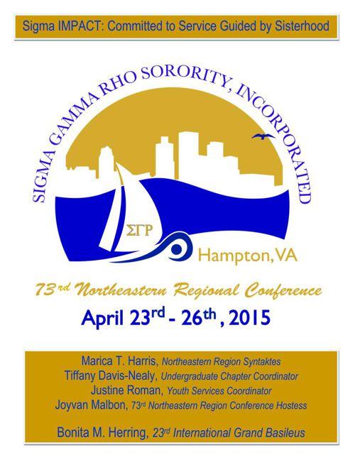 SGRHO 73rd NER Regional Conference.2015