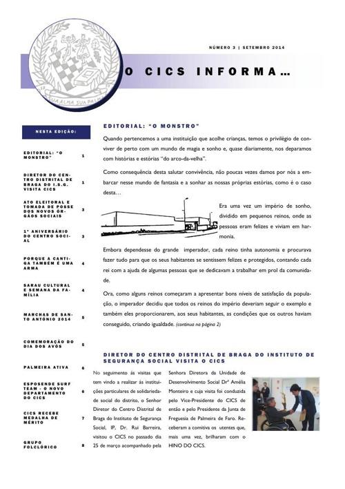 O CICS informa...