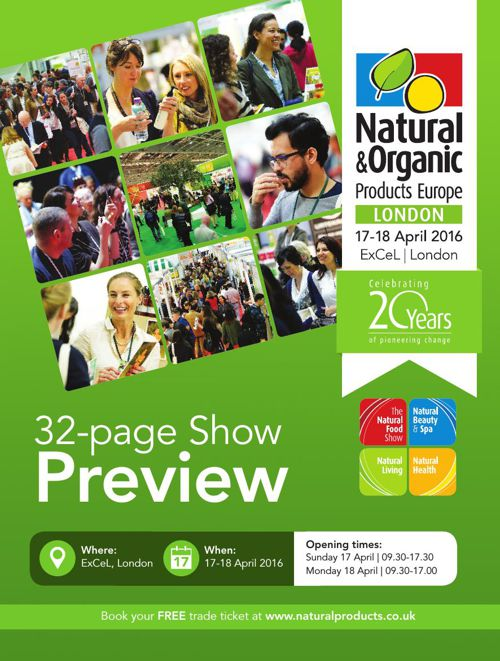 Natural & Organic Products Europe Show Preview