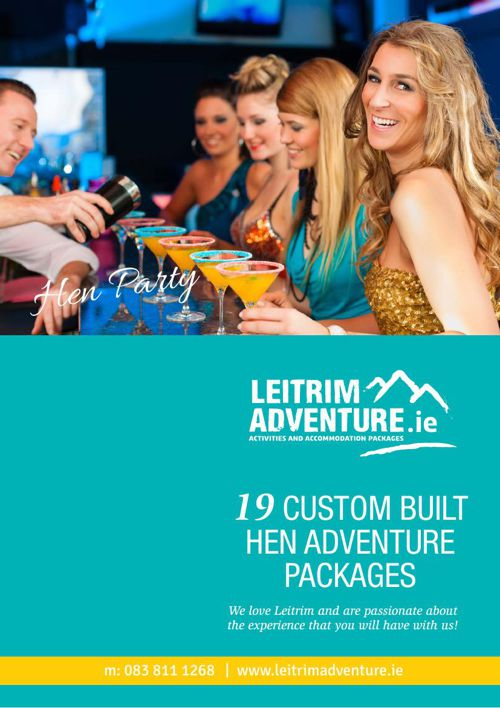 Hen weekend packages Carrick on Shannon