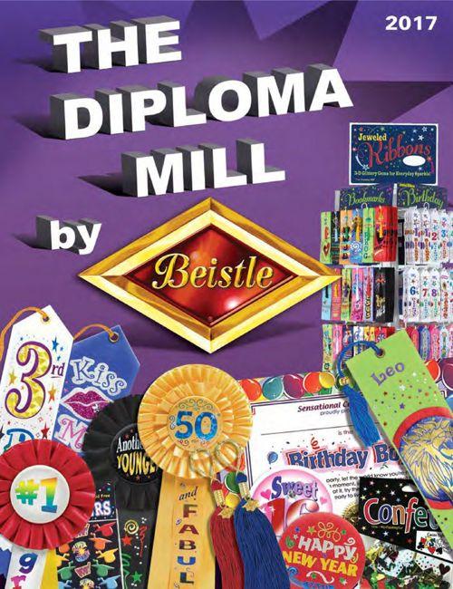 2017 Diploma Mill Catalog