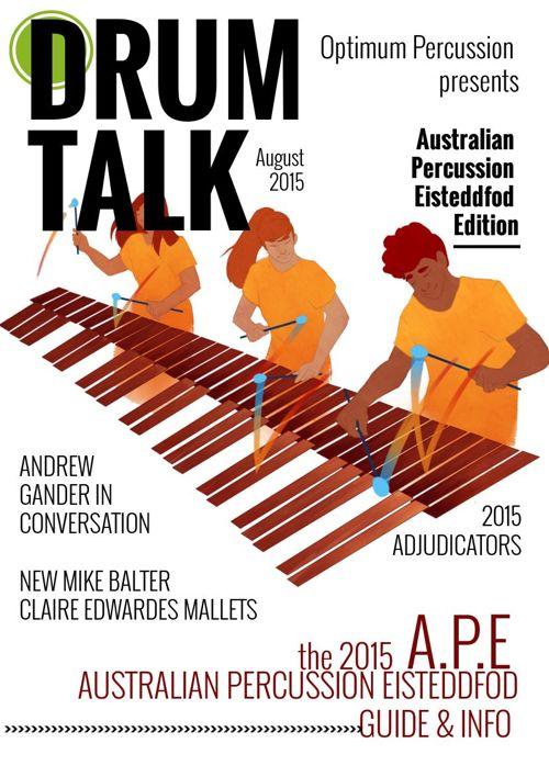 Drum Talk AUGUST