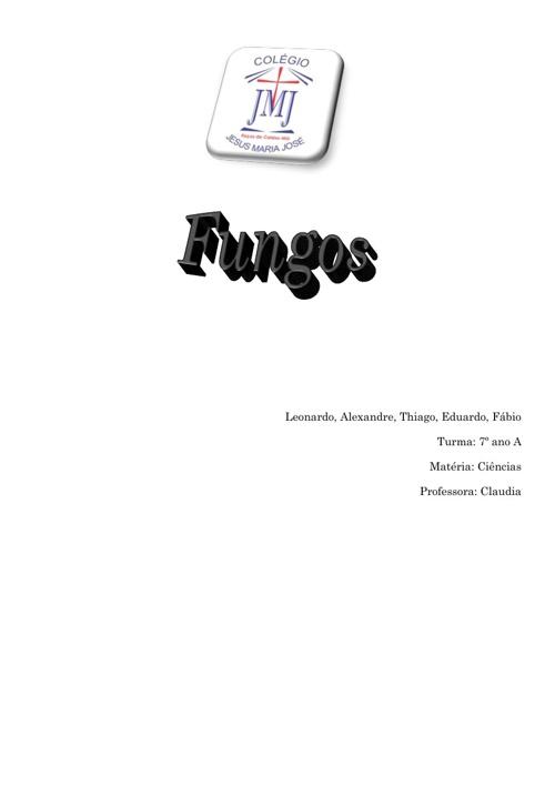 Os Fungos