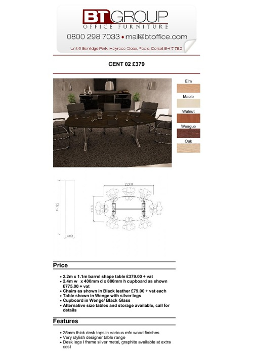 Meeting & Boardroom Tables (Products 1-50)