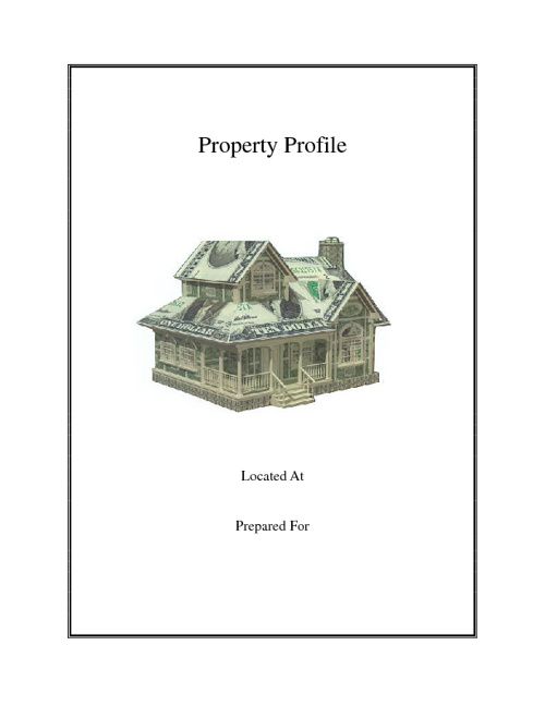 Sample Property Profile