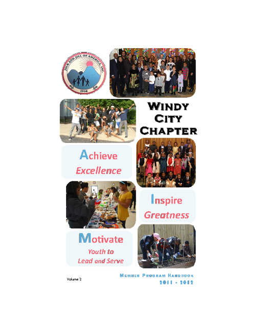 Windy City Chapter Member '11-'12 Program Handbook