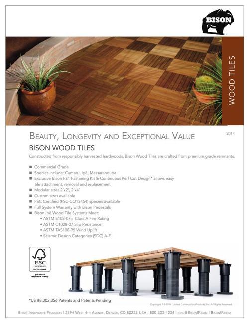 Wood Tiles Cut Sheet