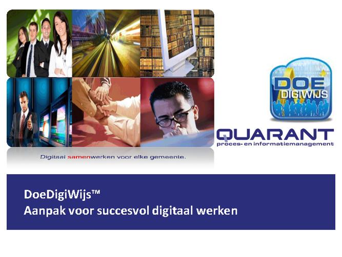 Quarant - Digitaal samenwerken voor elke gemeente