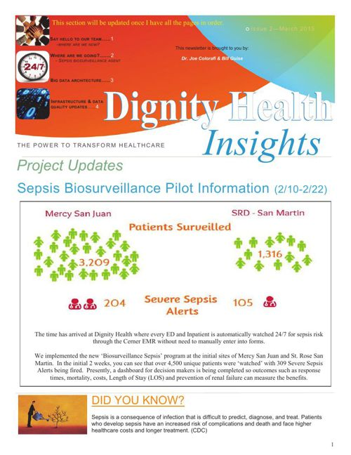 Dignity Health Insights Newsleter - March 2015 v1.0