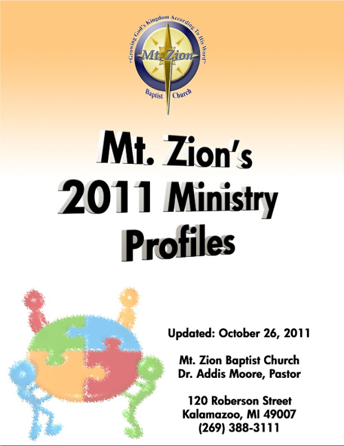 Copy of Mt. Zion's Ministry Profiles