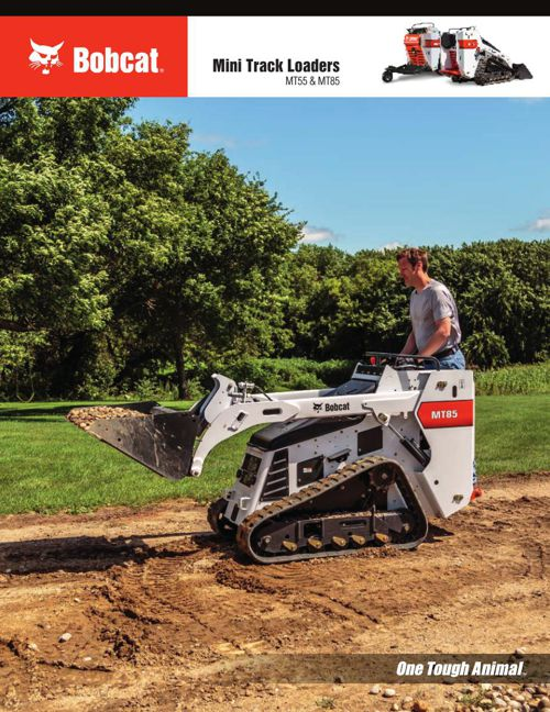 Bobcat Mini Track Loader Brochure