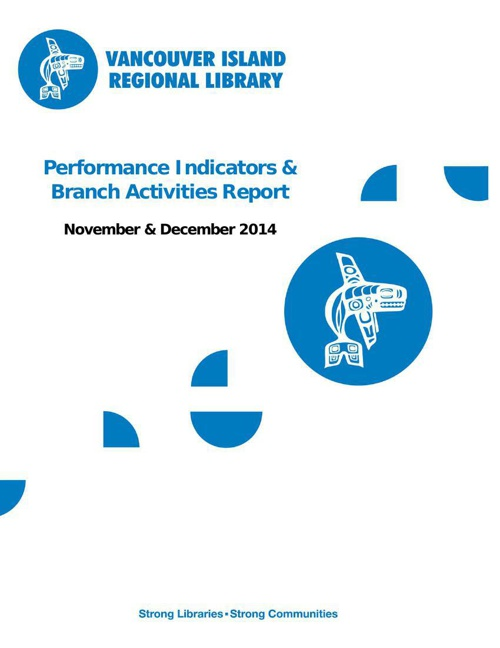 Performance Indicators & Branch Activities: Nov. & Dec. 2014