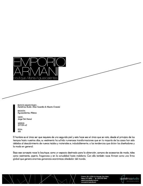 Emporio Armani | Altaria Aguascalientes