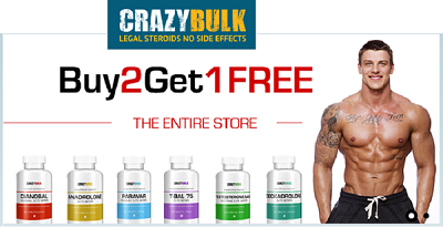 Crazy Bulk - Body Building Supplement