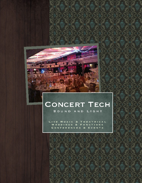 Concert Tech Brochure July 2012
