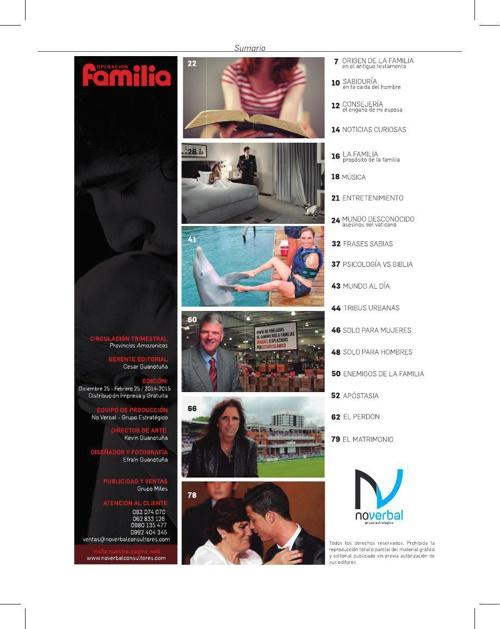 Revista Operación Familia
