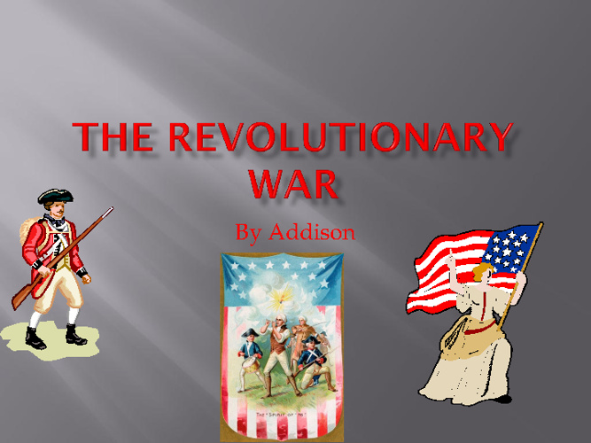 Addison's War