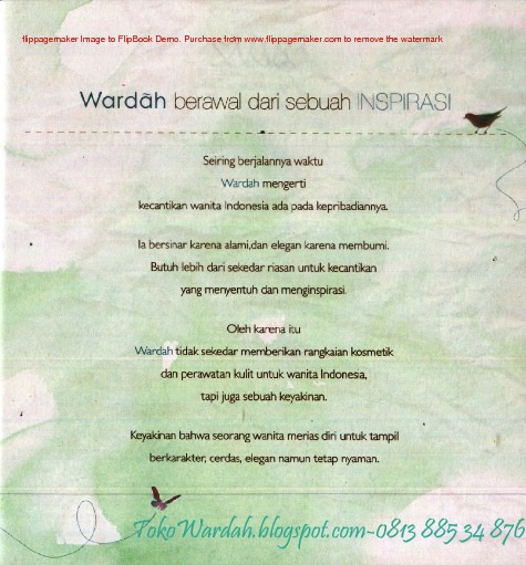 Product Knowledge Wardah