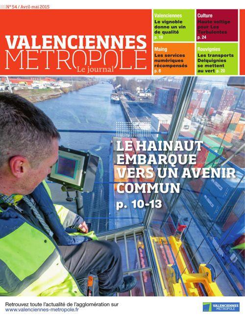 Valenciennes Metropole, le journal (numéro 54)