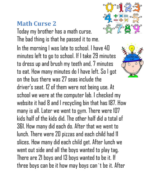 math curse 2