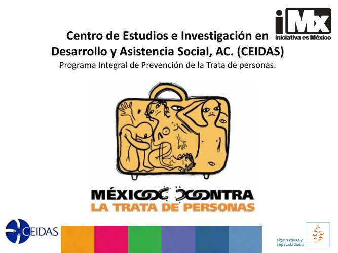 RF - CEIDAS - Prevención de la Trata de Personas
