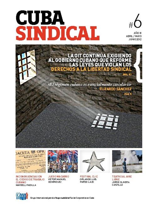 Cuba Sindical #6 Año 3 / Abril-Junio 2012