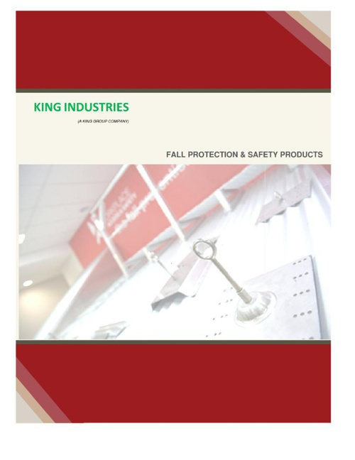 Fall Protection & Safety Products (2014)