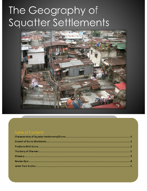 Geography of Slums 2